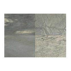 Polished Silver Shine Slate Stone