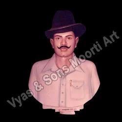 Marble Bhagat Singh Bust