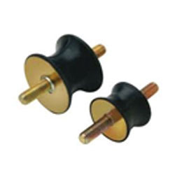 Round Mild Steel Anti Vibration Mountings, For Industrial