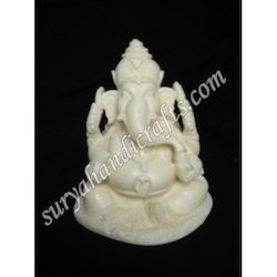Bone Ganesh With Sitting