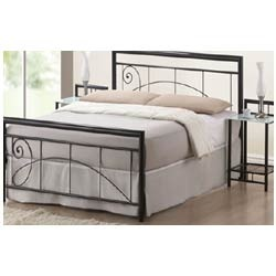 signature wrought iron bed