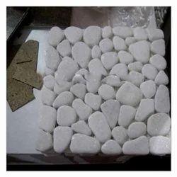 White Mosaic Stone