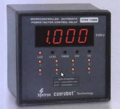 Micro Controller Automatic Power Factor Correction Relay