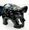 Black Stone Elephant