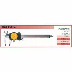 Dial Caliper (Range 200mm)