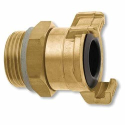 Bhumi Brass One Way Connector, Size: 8-12 mm