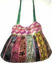 Sari Patch Hand Bags