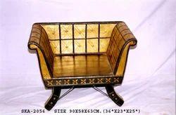 Bari Wooden Sofa, For Anywhere