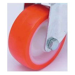 Polyurethane Tyre Nylon Centre Wheel
