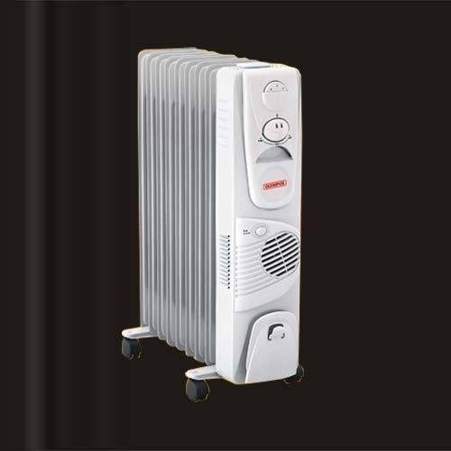 Olympus 2000w 400w Fan Oil Filled Radiator Heater Model
