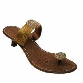 a02d350b578c Catwalk Womens Casual Gold Stilletoes Sandals 2103 - Liberty Retail ...