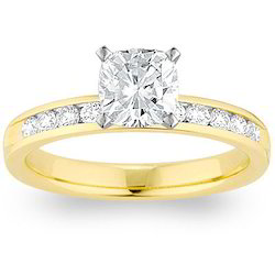 Solitaire Real Diamond Wedding Ring