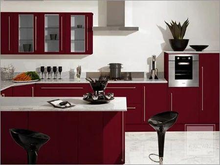 PVC Modular Kitchen | Woodco Interiors | Manufacturer in ...