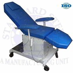 standard steel blue Blood Donor Couch, Size: bog