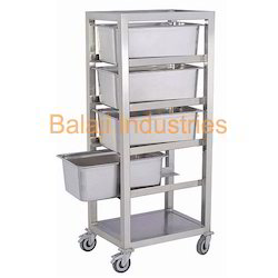 Food Storage Bin Trolley