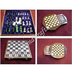 Wooden Chess And Board