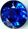 Lab Created Blue Sapphire Gemstone