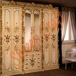 Wood Furniture Design Almirah wooden almirah in vadodara, gujarat | wooden almari , lakdi ki