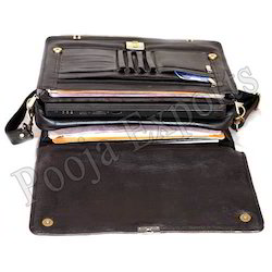 Leather Messenger Bag ( Product Code: RBS01)