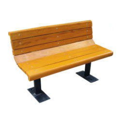 FRP Park Bench With Back Rest