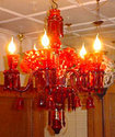 Glass Hanging Chandelier