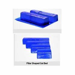 Pillar Shaped Gel Bed