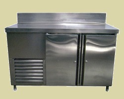 Refrigerator with Work Table