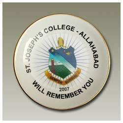 St Joseph's School Plate