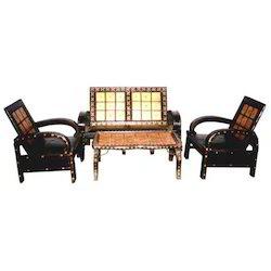 Cart Style Sofa Set