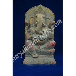 Wooden Painting Ganesh Ji