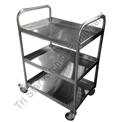 Stainless Steel And Stainless Steel Utility Trolleys