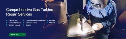 Refurbishment of Gas Turbine Components - Corrtech Energy