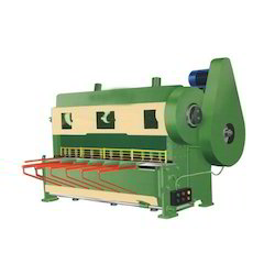 Motorized Over Crank Shearing Machine