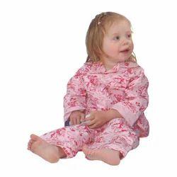 Pink Girl Kids Cotton Night Suit