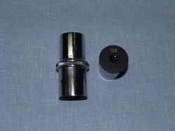 Eyepiece with cross wire