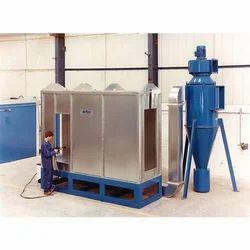 AMAN INDUSTRIES Aluminium Powder Coating Booth, Fully Undershot Type, Automation Grade: Automatic