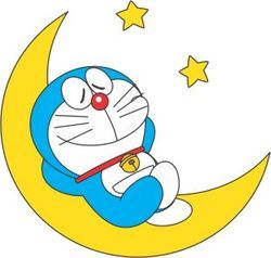Doraemon Temporary Tattoo
