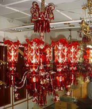 Glass chandeliers at best price in india beaded chandelier aloadofball Gallery