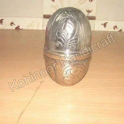 Standing Metal Egg