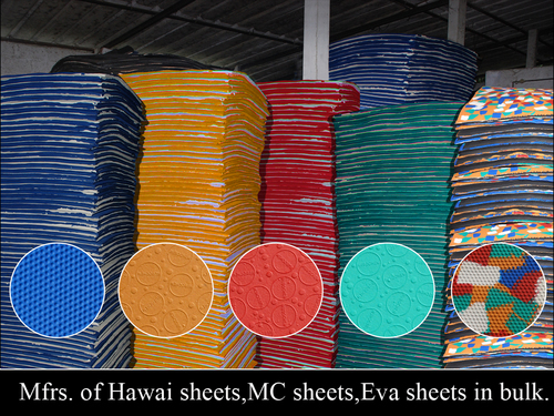Rubber Products Hawai Sheets 60 To 40 Manufacturer From