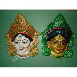 Meena Painting Face With Lady