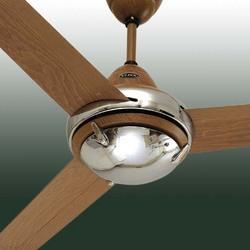 Hi-Fx Beachwood Chrome Fan