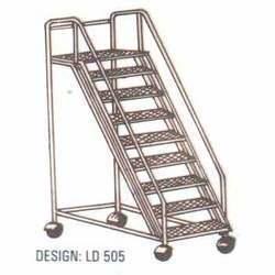 Aluminum Ladder Alumnum Trolley Step Ladder Manufacturer