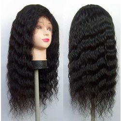 Indian Lady Human Hair - Wigs