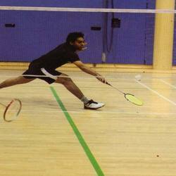 Wooden Sports Flooring for Badminton Court