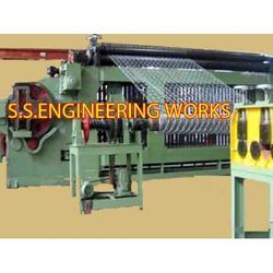 Gabion Netting Mesh Machine