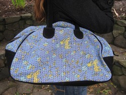 Vintage Kantha Handbag