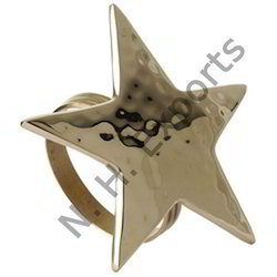 Star Shaped Napkin Rings