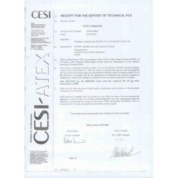 Atex Certificate For Actuator