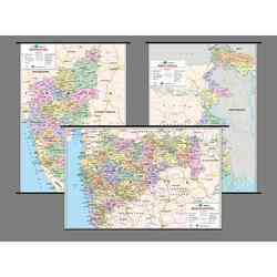India State Polyart Plastic Rollers Maps